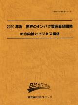 2020年版 世界のタンパク質医薬品開発の方向性とビジネス展望
